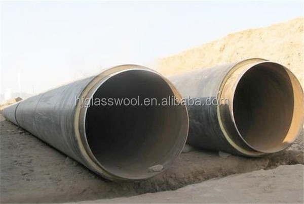 conductive materials heat and sound rock wool insulation pipe