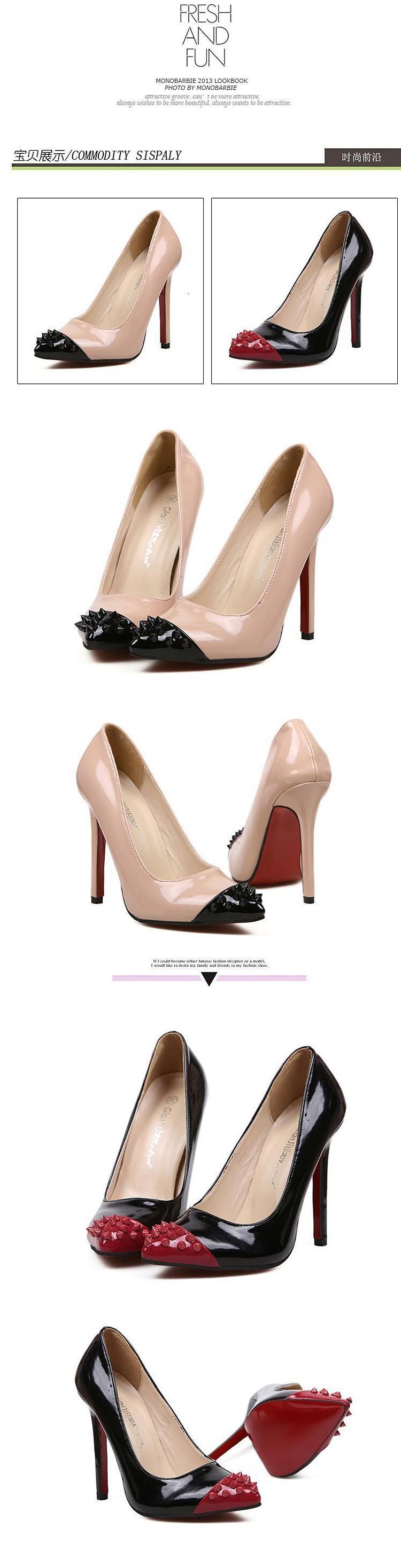 Туфли на высоком каблуке  5905