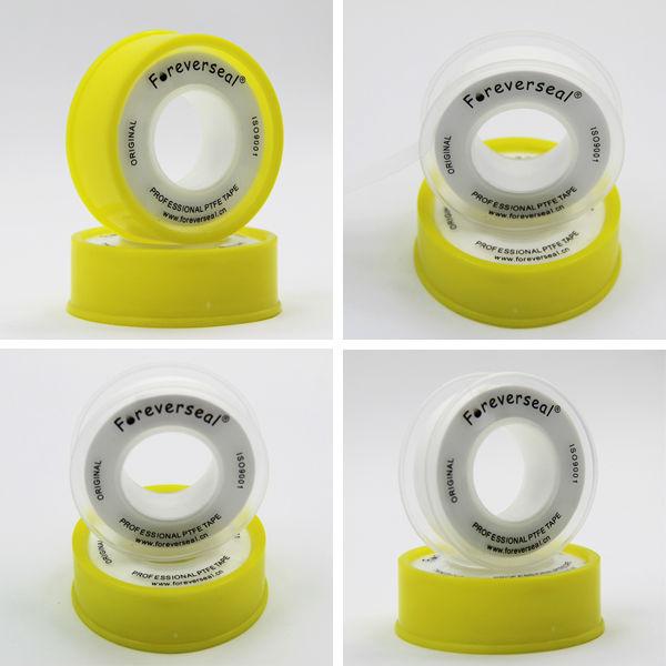 12 mm rosca fita de vedação em PTFE para montagem de tubulação