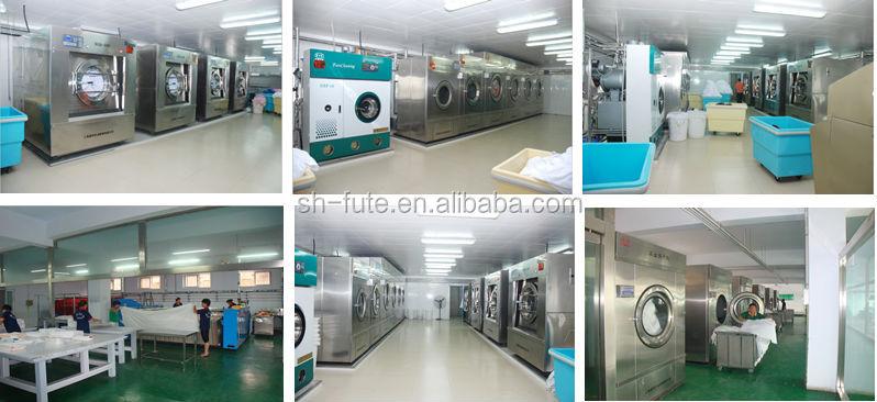 Semi-auto laundry industrial washing machine Fute