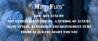 Женская одежда из меха ManyFurs gilets