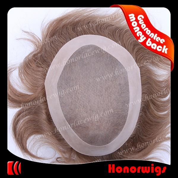 4 inches 965212 indian human hair NPU mens toupee9652 (2)