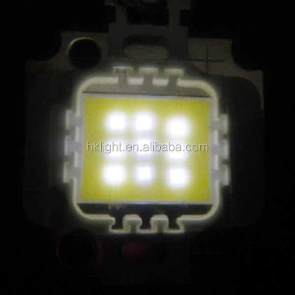 factory price best selling products high power 10w 12v led array cool white