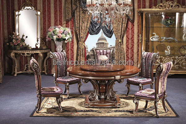 England Style Round Dining Table,Noble British Windsor Victorian ...