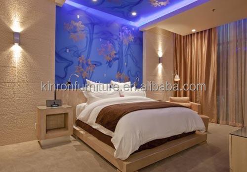 houten meubels ontwerpen hotel slaapkamermeubilair massief hout, Deco ideeën