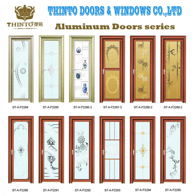Wholesale european style designer aluminium bathroom doors for Aluminium bathroom door designs