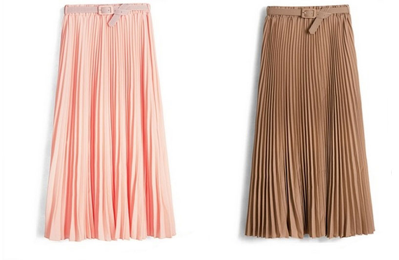 Popular Shipping 2014 New Long Skirts Women High Waist Organza Skirt Women