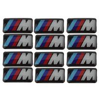 Наклейки 10 X Tec 3D bmw m M1 3 M5 M6