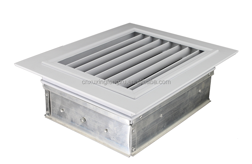 Aluminum Supply Opposed Blade Damper Air Diffuser Grille