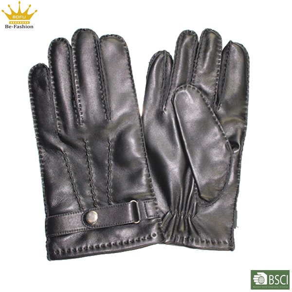 Leather Gloves For Men Winter Winter Man Leather Gloves Thin