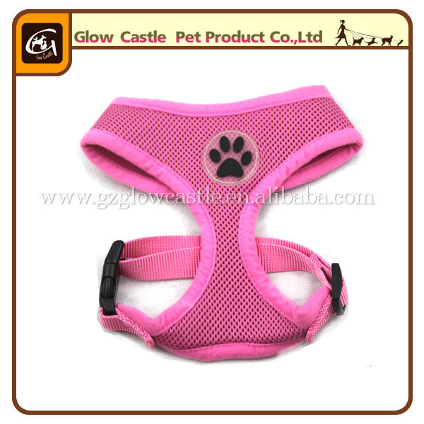Glow Castle Fashion Paw Design Dog Harness With Soft Breathable Airmesh (5).jpg