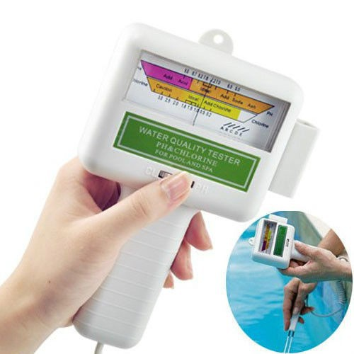 Portable Water Quality Ph Cl2 Chlorine Tester Level Meter Ph Tester For Swimming Pool Spa Buy
