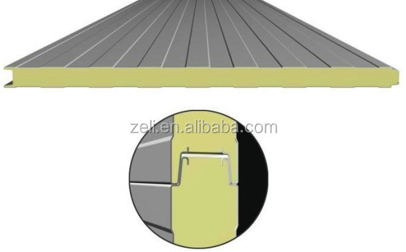 Structural Roof Sandwich Panels : Structural insulated panel polyurethane foam sandwich roof