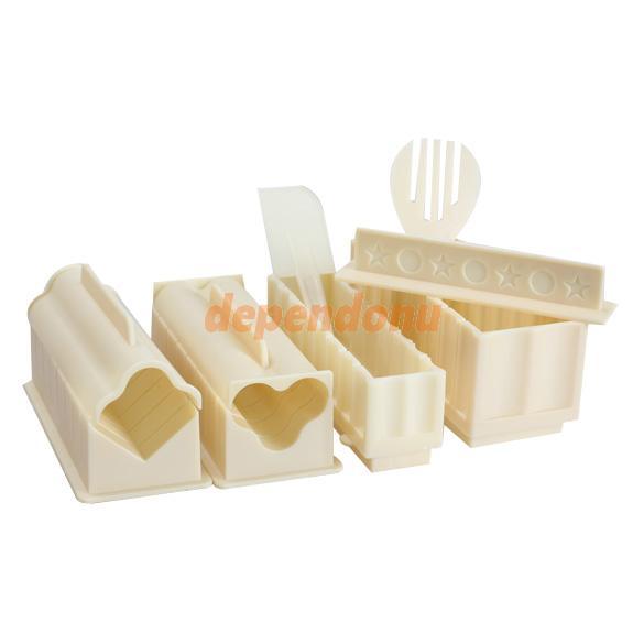 Keuken Gereedschap Set : het maken van sushi rijst schimmel keuken gereedschap set van 11 stuks