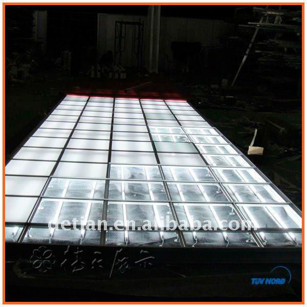 Portable Exhibition Lighting : Exhibition lighting raised floor portable glass platform