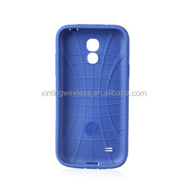 2014 New Arrival Fashion tpu pc case for samsung s4 mini sublimation phone case for s4 mini