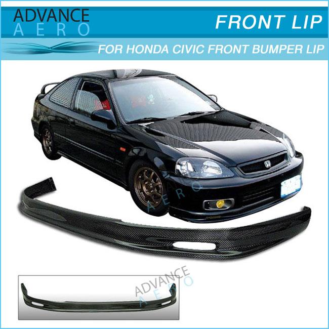 For 96 97 98 Honda Civic Ek9 Ek Carbon Fiber Mug Style Cf ...