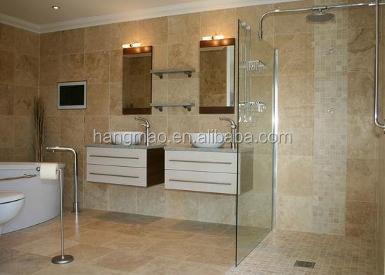 china lokale beige travertijn marmeren badkamer-marmer-product-id, Badkamer