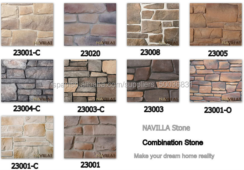 Piedras de fachadas precio materiales de construcci n for Tipos de piedras para paredes exteriores