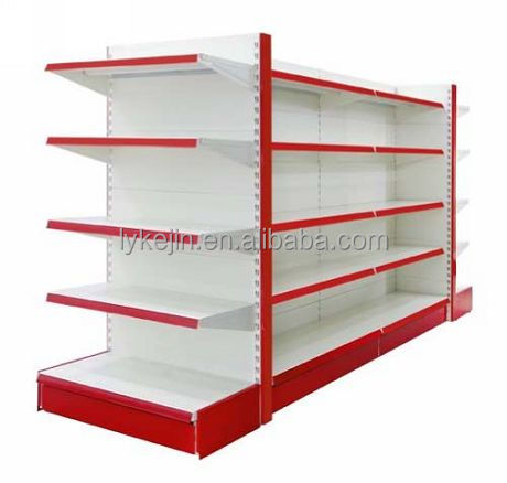 Cheap imported perfume supermarket display fruits and vegetables shelf