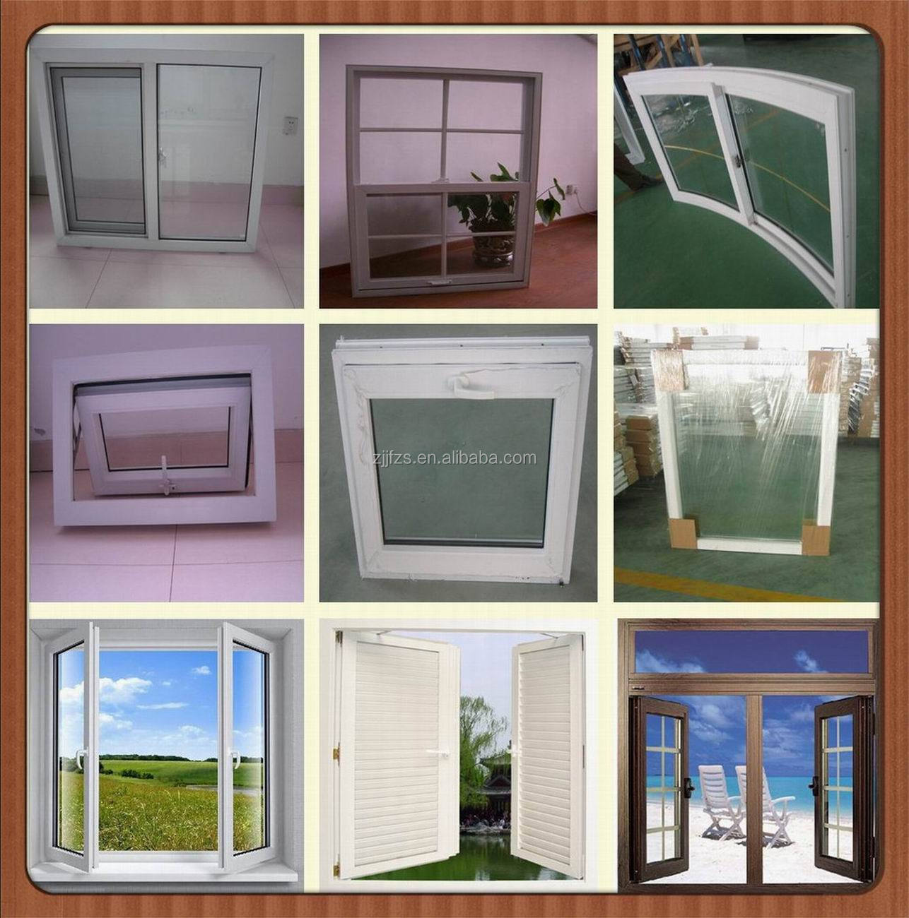China pvc windows grilles house designs windows designs of for Window models for house photos