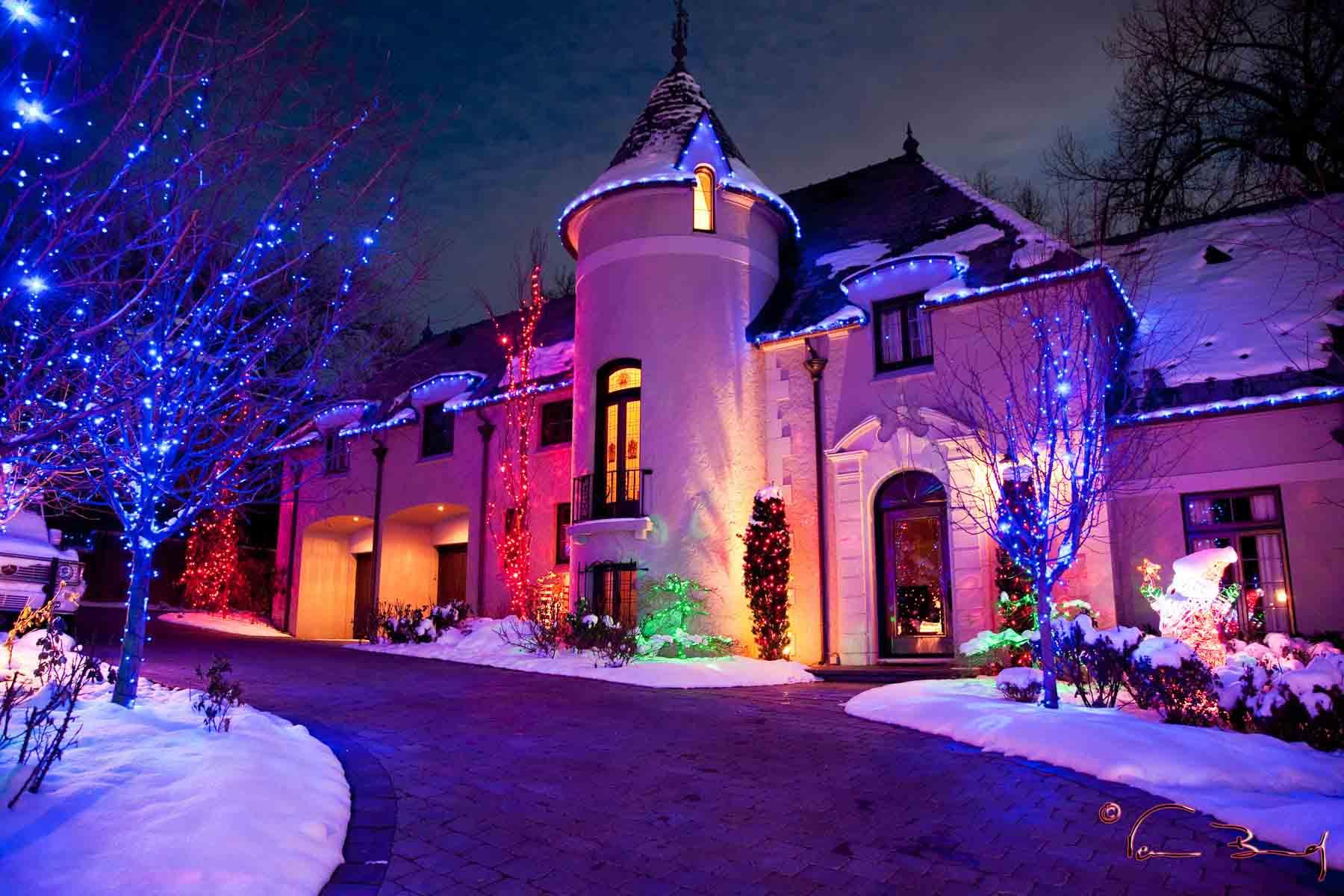 Lampadine Di Natale Per Esterno: Natale. Luci natale tubo luminoso 10 ...