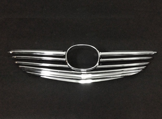 For Mazda 6 Atenza M6 2014 2015 2016 ABS Chrome Front Grille Cover Trim new