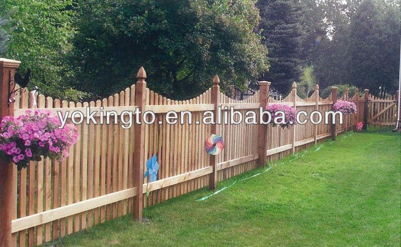 aplicacao deck jardim:Malha painel de cerca de cerca de madeira-Cercas, treliças e portões