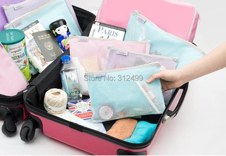 Пакеты для вещей в чемодан