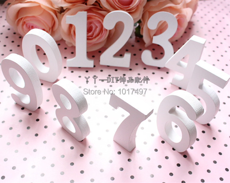 2017 wholesale wooden letters free standing personalised for Decoration 11 letters