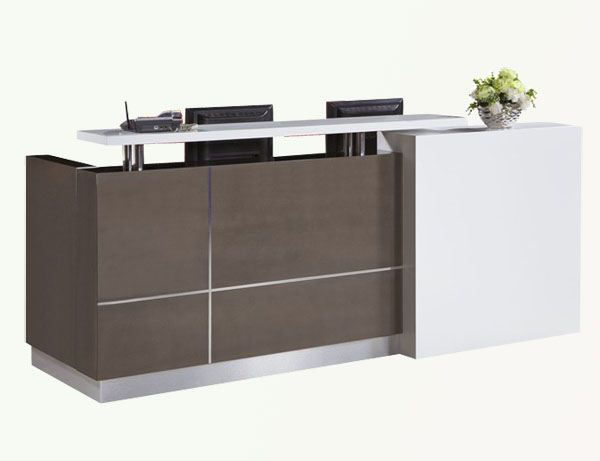 2014 high end office white cheap small modern modern for Office counter design