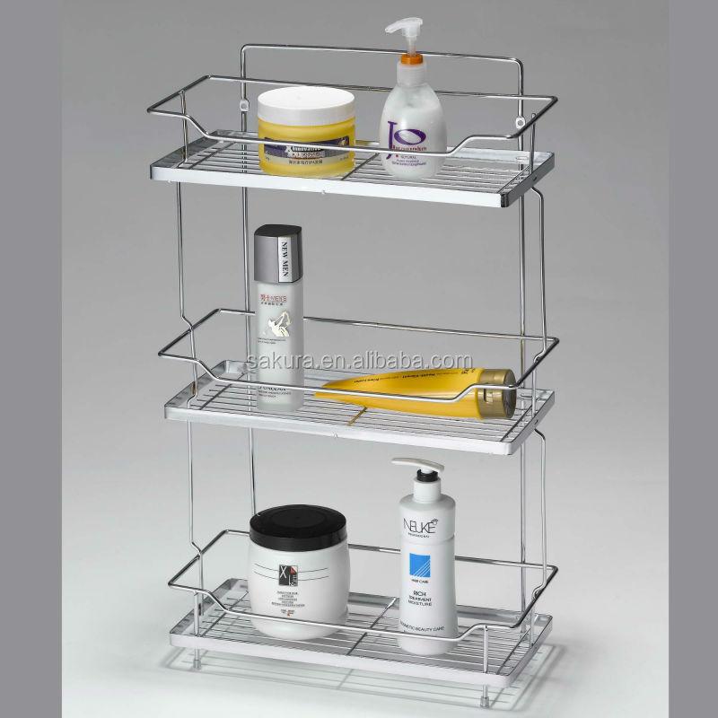 Luxury Shop Nameeks Gedy Wire Chrome Brass Bathroom Shelf At Lowescom