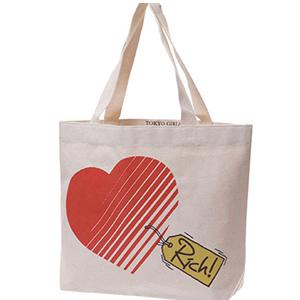 2014 Plain Wholesale Custom Printed Canvas Tote Bag