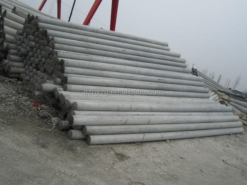 Conduit In Concrete Pole : Hot sale concrete elelctrical pole wooden