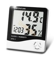 Новый ЖК цифровой термометр температуры влажности метр Многофункциональный счетчик большой гигрометр будильник #6 sv001721