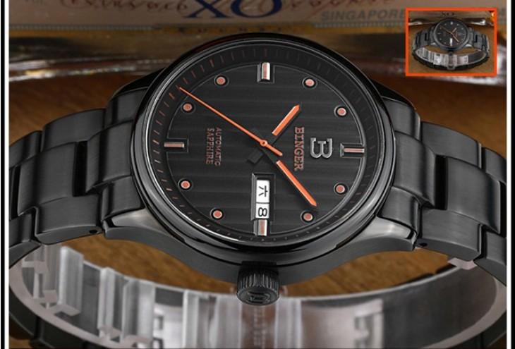 Freeship Бингер Новый Бренд Бингер часы Dual Time Военные Часы Водонепроницаемые Relojes relogio esporte Мужчины Спорт полоса наручные часы