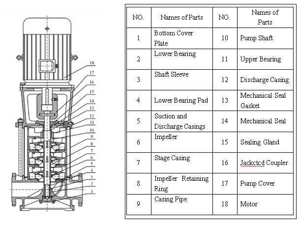 Centrifugal Pump Structure Centrifugal Pump