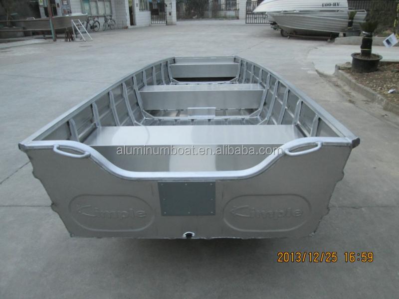 Flat Bottom Aluminum Jon Boat 450 Angler View Flat