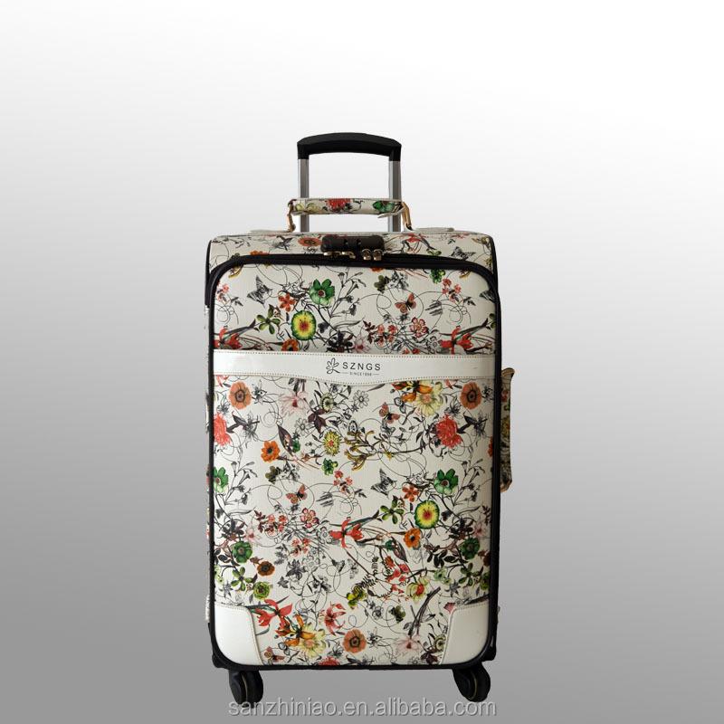 Trois oiseaux. top pu bagages set/bagages. pour les femmes, école de garçons sacs, valise