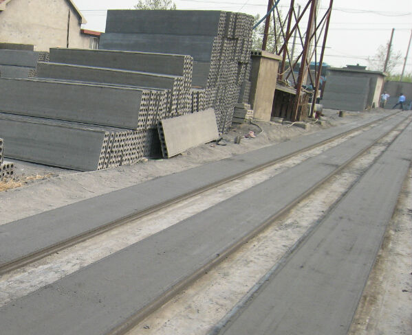 Precast Compound Wall : Automatic boundary wall planks precast compound