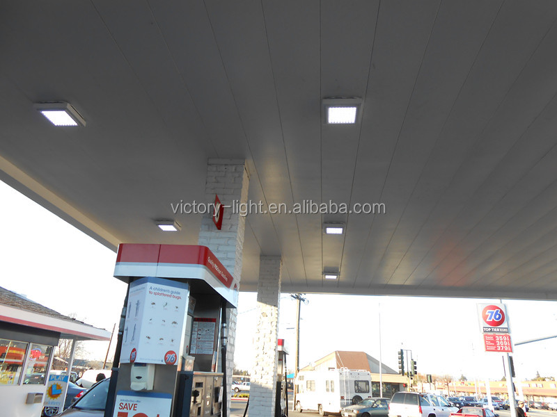 70w Gas Station Led Canopy Lights with Meanwell Driver
