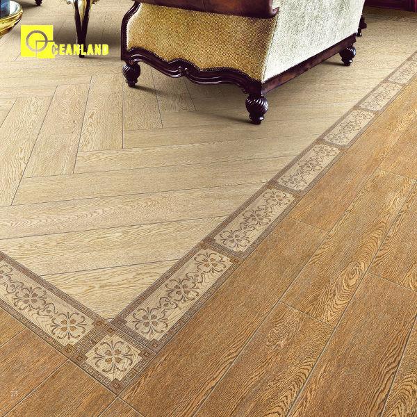 Kerala wood ceramic floor tile designs 600x150 for Exterior floor tiles design kerala