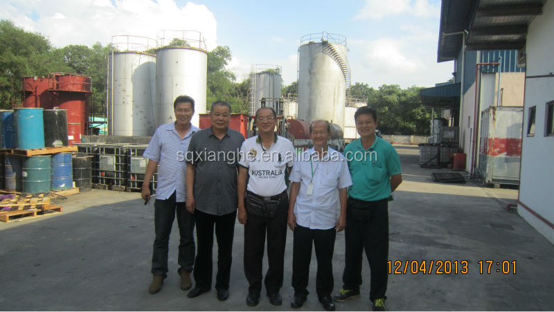 advanced technology pyrolysis recycling waste tire to oil machine with CE