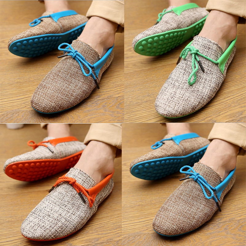 odema new 2014 men shoes summer breathable fashion weaving