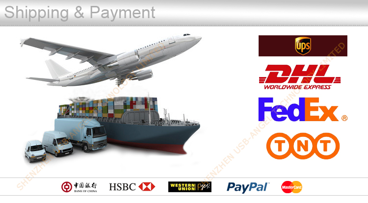 Our shipping and payment