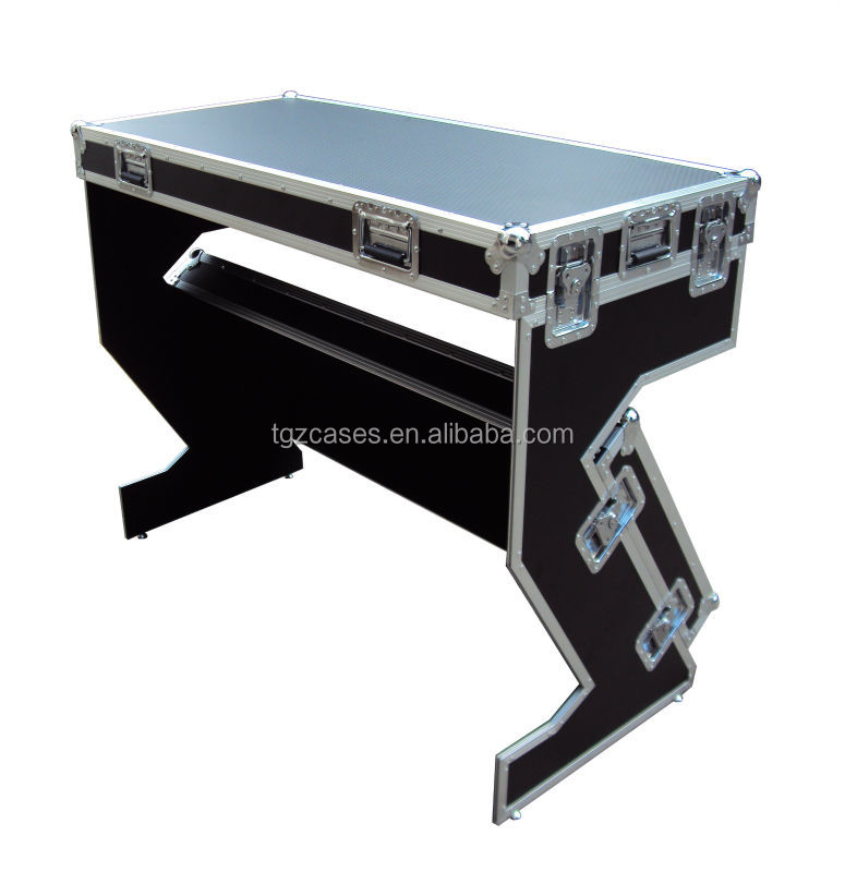 dj stand dj table case dj case which could be converted to a table for dj sets dj case set up. Black Bedroom Furniture Sets. Home Design Ideas