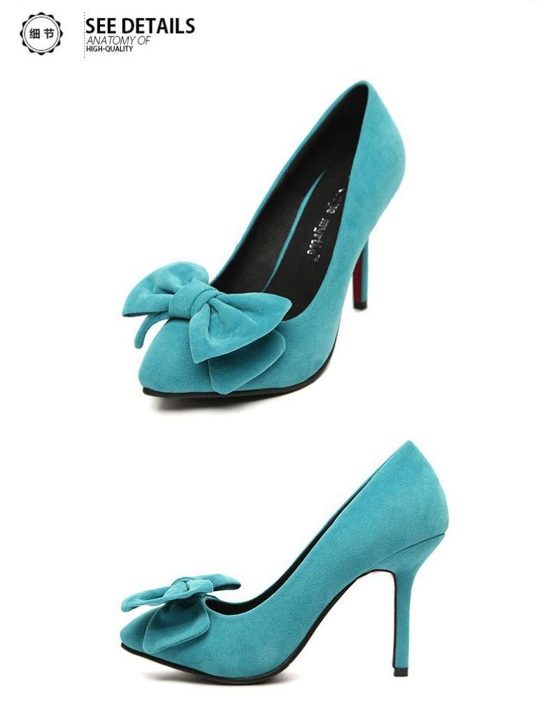 Туфли на высоком каблуке bowknot