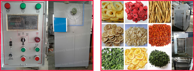 TPS Brand industrial fruits and vegetables drying machines