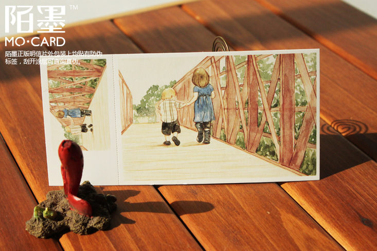 Поздравительная открытка Mo Card 30 + 30 [ ]  14.3cm*9.3cm