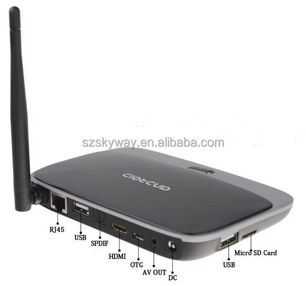 Full HD 1080P Android 4.2.2 RK3188 2gb ram 8gb rom Smart Quad Core Android TV Box